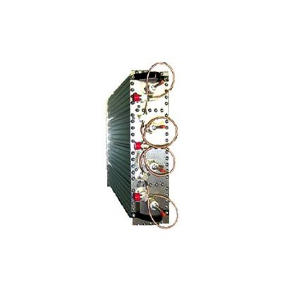 Duplexer Pasa Banda-Rechazo de Banda, 138-174 MHz, 4 Cavidades (4 Dia.) 500 KHz, 350 Watt, N Hem.