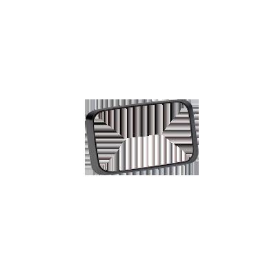 Montaje negro con empaque para luces Quadraflare