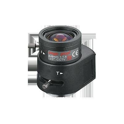 Lente 1.3MP varifocal 8-20mm, IRIS AUT-DC, día-noche, 1-3''