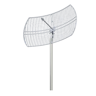 Antena 5.7 - 5.8 GHz Rejilla Ganancia 30 dBi Dimensiones 90 x 60 x 38 cm - Peso 4.5 kg