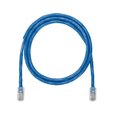 Cable de parcheo UTP categoria 5e, con plug modular en cada extremo - 2 m - azul