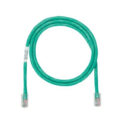 Cable de parcheo UTP Categoría 5e, con plug modular en cada extremo - 2 m. - Verde