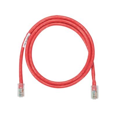 Cable de parcheo UTP Categoría 5e, con plug modular en cada extremo - 2 m. - Rojo