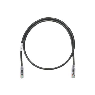 Cable de parcheo UTP Categoría 6, con plug modular en cada extremo - 2 m. - Negro