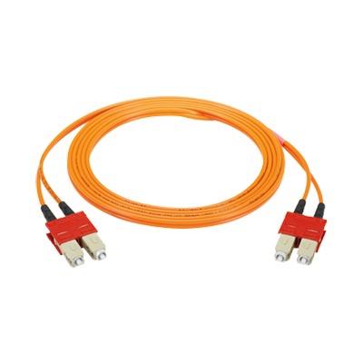 Clip SC para hacer dúplex 2 conectores simplex multimodo o monomodo