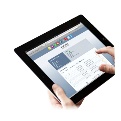 Módulo de Acceso Web para clientes monitoreados por el Software de Monitoreo Securithor